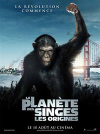 film La Plan�te des singes : les origines en streaming