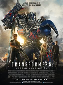 regarder Transformers : l'âge de l'extinction en streaming