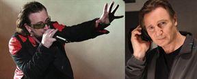 Liam Neeson écrit un film avec... Bono, le chanteur de U2 !
