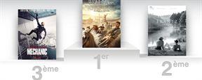 Box-office France : Ben-Hur lâche les chevaux