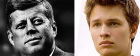 Mayday 109 : Ansel Elgort dans la peau de John F. Kennedy jeune
