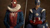 Batman et Spider-Man en mode XVIe siècle: les costumes des super-héros version Renaissance !