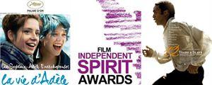"""Nominations Independent Spirit Awards 2014 : """"12 Years a Slave"""" favori et """"La Vie d'Adèle"""" cité"""