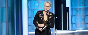Golden Globes 2017 : Meryl Streep fait sensation avec un discours anti-Trump