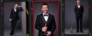 Oscars 2018 : Jimmy Kimmel prend la pose sur l'affiche de la 90e édition