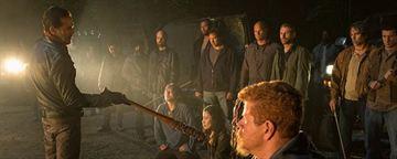 The Walking Dead S7 : les maquillages gore du premier épisode [SPOILERS]