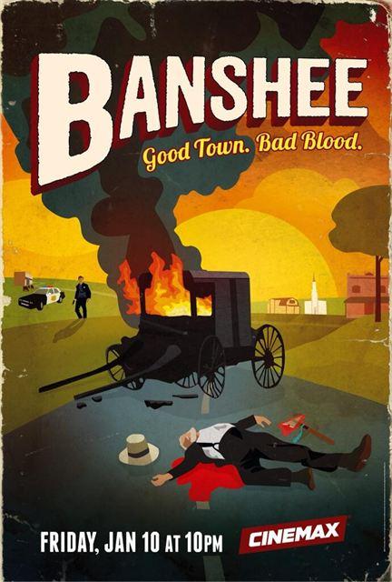 Banshee - Season 2 - Affiche