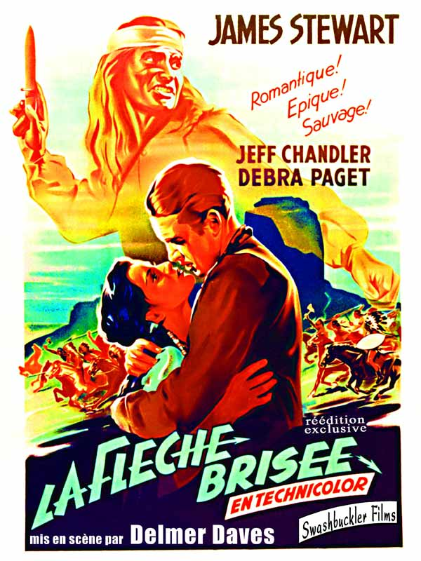 La Flèche brisée (1950) [Multilangues][Bluray 1080p]