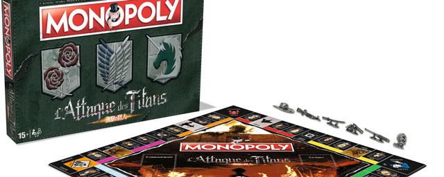 Un Monopoly L'Attaque des titans 3800676