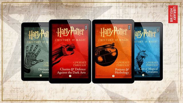 JK Rowling annonce 4 ebooks sur l'univers de la saga — Harry Potter