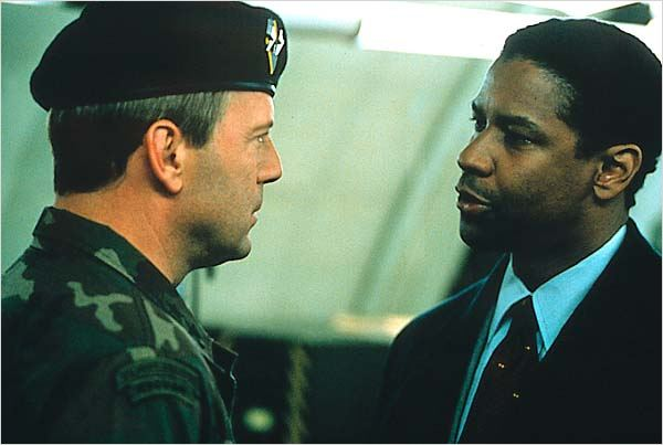 Couvre-feu : photo Bruce Willis, Denzel Washington, Edward Zwick