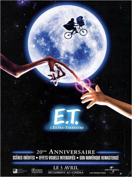 E.T. l'extra-terrestre : affiche
