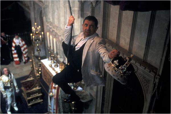 Johnny English : photo John Malkovich, Rowan Atkinson