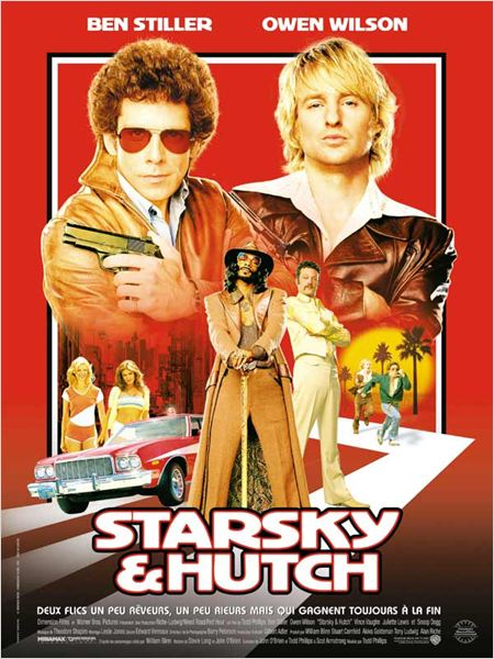 Starsky et Hutch : Affiche Ben Stiller, Snoop Dogg, Todd Phillips, Vince Vaughn