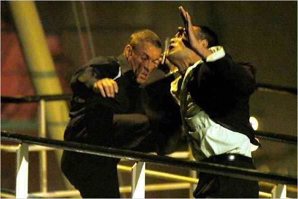 L'Empreinte de la mort : Photo Jean-Claude Van Damme, Philippe Martinez