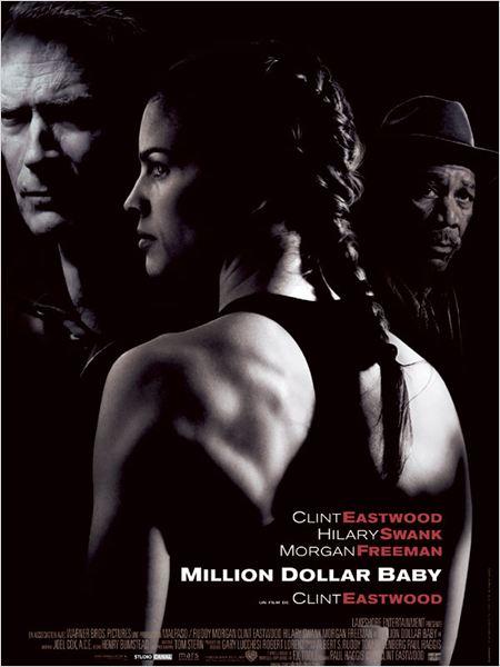 Million Dollar Baby : Affiche Clint Eastwood, Hilary Swank, Morgan Freeman