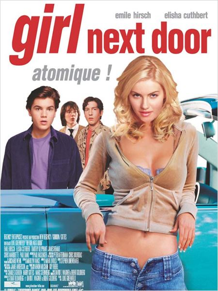 Girl Next Door : affiche Elisha Cuthbert, Emile Hirsch, Luke Greenfield