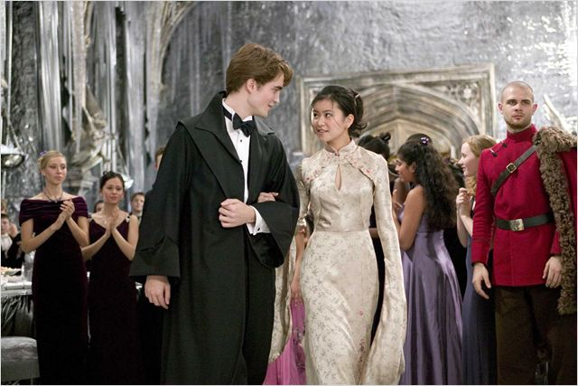 Harry Potter et la Coupe de Feu : photo Katie Leung, Mike Newell, Robert Pattinson