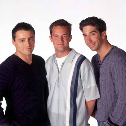 Friends : Photo David Schwimmer, Matt LeBlanc, Matthew Perry
