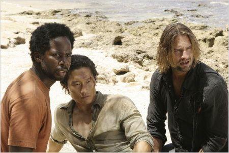 Lost, les disparus : Photo Daniel Dae Kim, Harold Perrineau, Josh Holloway
