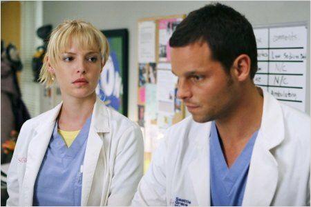 Grey's Anatomy : Photo Justin Chambers, Katherine Heigl