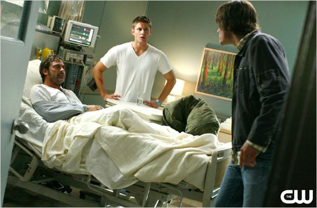 Supernatural : photo Jeffrey Dean Morgan, Jensen Ackles