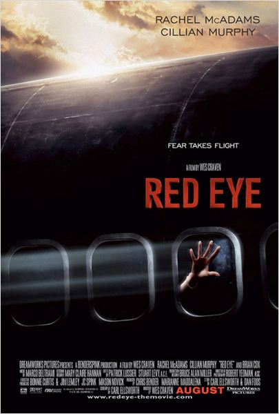 Red Eye / sous haute pression : Affiche Wes Craven