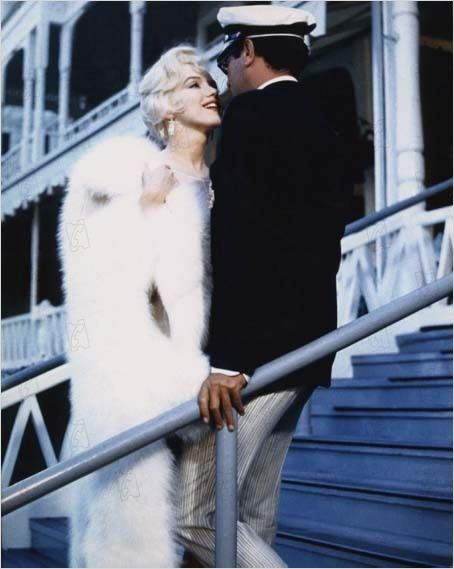 Certains l'aiment chaud : Photo Billy Wilder, Marilyn Monroe, Tony Curtis
