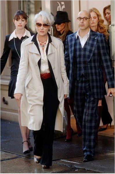 Le Diable s'habille en Prada : Photo Anne Hathaway, David Frankel, Meryl Streep, Stanley Tucci