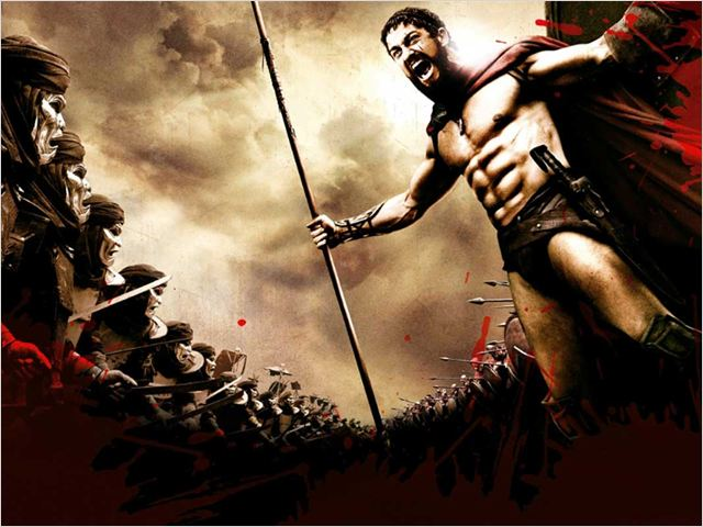 300 : Affiche Gerard Butler, Zack Snyder