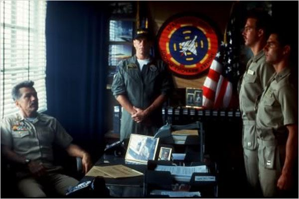 Top Gun : photo Anthony Edwards, Michael Ironside, Tom Cruise, Tom Skerritt, Tony Scott
