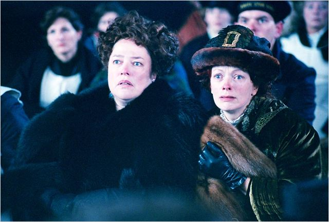 Titanic : Photo Frances Fisher, James Cameron, Kathy Bates