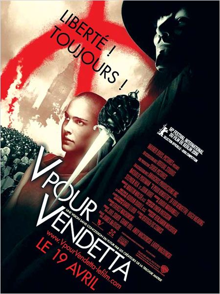 V pour Vendetta : affiche James McTeigue, Natalie Portman