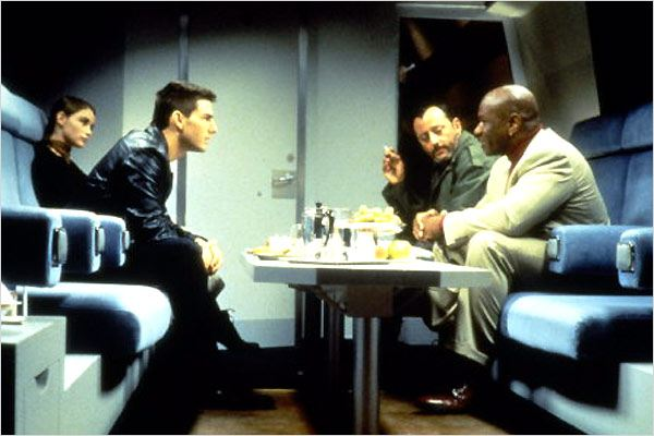 Mission : Impossible : Photo Brian De Palma, Emmanuelle Béart, Jean Reno, Tom Cruise, Ving Rhames