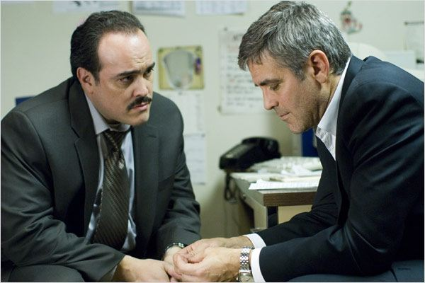Michael Clayton : Photo David Zayas, George Clooney, Tony Gilroy