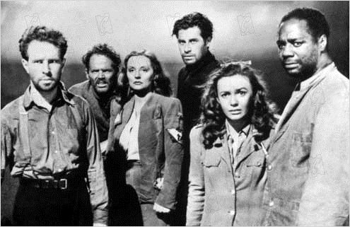 Lifeboat : photo Alfred Hitchcock, Canada Lee, Henry Hull, Hume Cronyn, John Hodiak