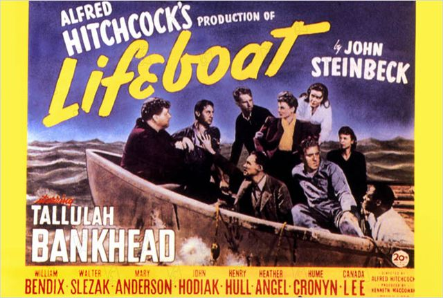 Lifeboat : photo Alfred Hitchcock, Heather Angel, Henry Hull, Hume Cronyn, John Hodiak