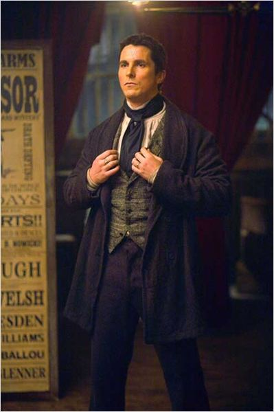 Le Prestige : photo Christian Bale, Christopher Nolan