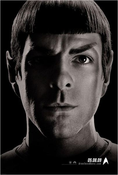 Star Trek : Affiche J.J. Abrams, Zachary Quinto