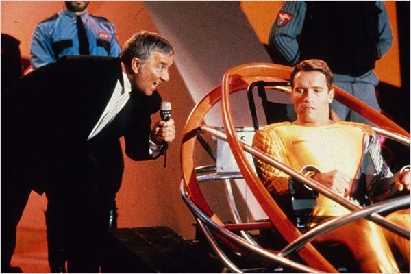 Running Man : photo Arnold Schwarzenegger, Paul Michael Glaser