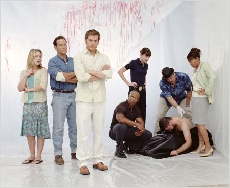 Dexter : Photo David Zayas, Erik King, James Remar, Jennifer Carpenter, Julie Benz