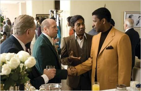 American Gangster : photo Denzel Washington, Joe Morton, Ridley Scott