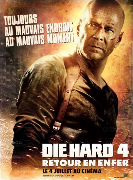 Die Hard 4 - retour en enfer : affiche Len Wiseman