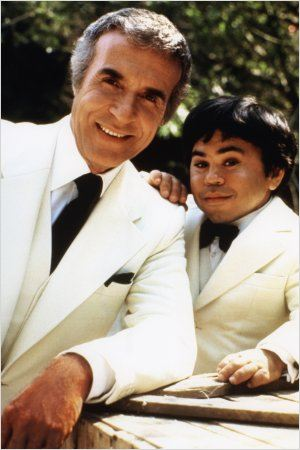 L'Ile Fantastique : photo Herve Villechaize, Ricardo Montalban