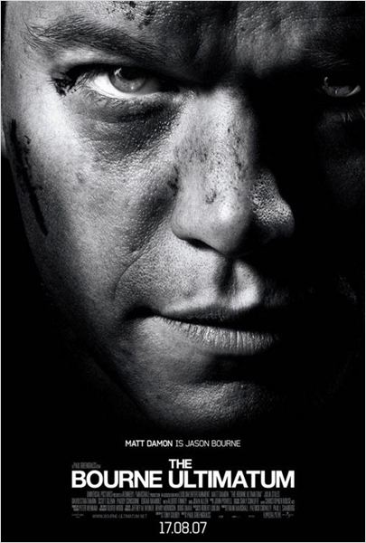 La Vengeance dans la peau : affiche Matt Damon, Paul Greengrass