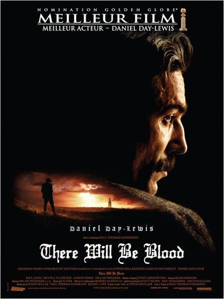 There Will Be Blood : Affiche Daniel Day-Lewis