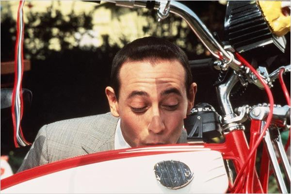 Pee Wee Big Adventure : photo Paul Reubens, Tim Burton