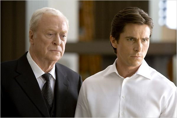 The Dark Knight, Le Chevalier Noir : Photo Christian Bale, Christopher Nolan, Michael Caine