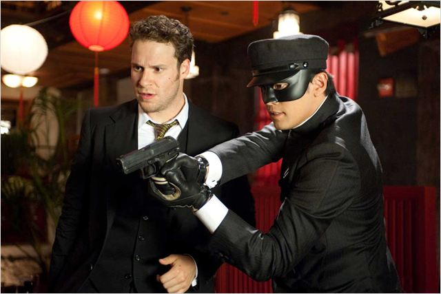 The Green Hornet : Photo Jay Chou, Michel Gondry, Seth Rogen