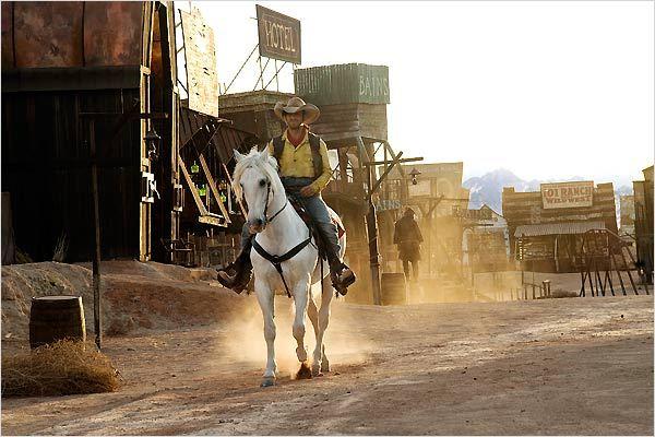 Lucky Luke : Photo James Huth, Jean Dujardin
